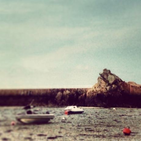 Low tide at La Rocque