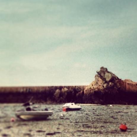 Low tide at La Rocque