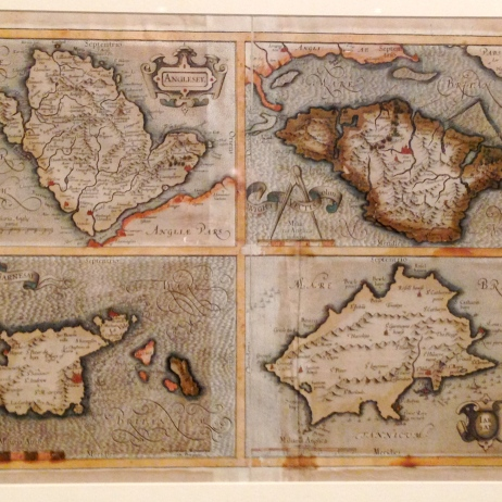 Historical maps of the Channel Islands