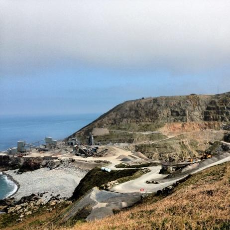 Quarry at Ronez