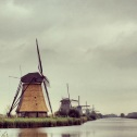 Windmill series at Kinderdijk (UNESCO World Heritage Site) – polder drainage (part 1 of 2).