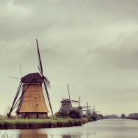 Windmill series at Kinderdijk (UNESCO World Heritage Site) – polder drainage (part 1 of 2).