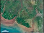 Kalimantan, Borneo – courtesy of NASA Earth Observatory.