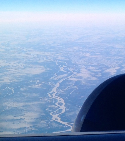 More meandering planforms southwest of James Bay, southern Ontario.
