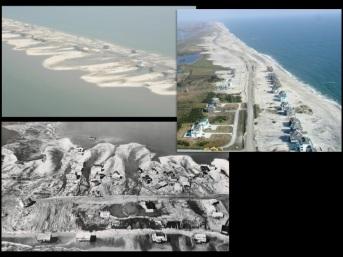 Bottom: Long Beach Island, NJ, 1962.